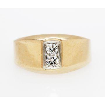 Estate 14K Yellow Gold Diamond Ring