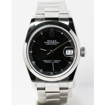 Pre-Owned Stainless Steel Midsize Datejust Watch #68240