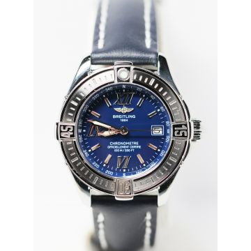 Pre-Owned Stainless Steel Ladies' Breitling Cockpit Watch #A67365