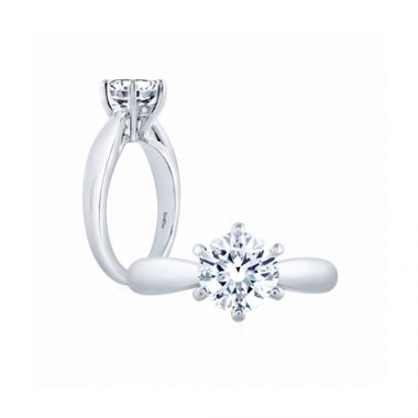 Fire & Ice Natalie Diamond Solitaire Engagement Ring