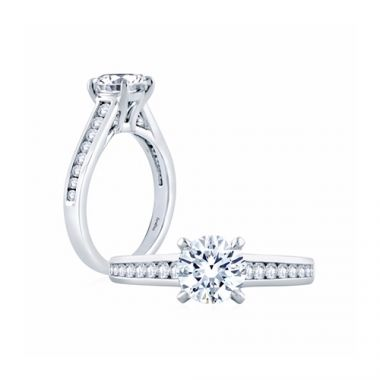 Fire & Ice Mila Diamond Straight Engagement Ring