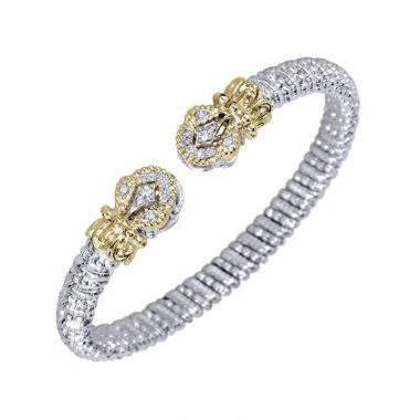 Alwand Vahan 14k Yellow Gold & Sterling Silver Open Diamond Bracelet