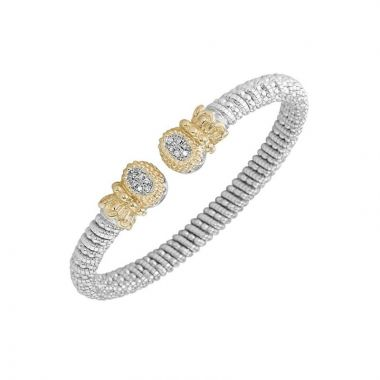 Alwand Vahan 14k Yellow Gold & Sterling Silver Pave Diamond Bracelet