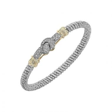 Alwand Vahan 14k Yellow Gold & Sterling Silver Knot Bracelet