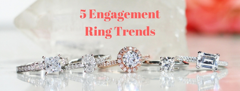 5 Engagement Ring Trends