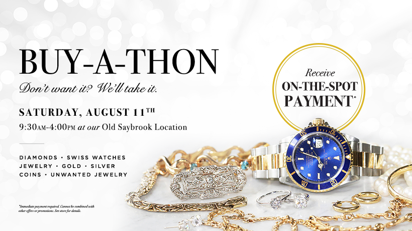 Buy A Thon August 11th in Old Saybrook