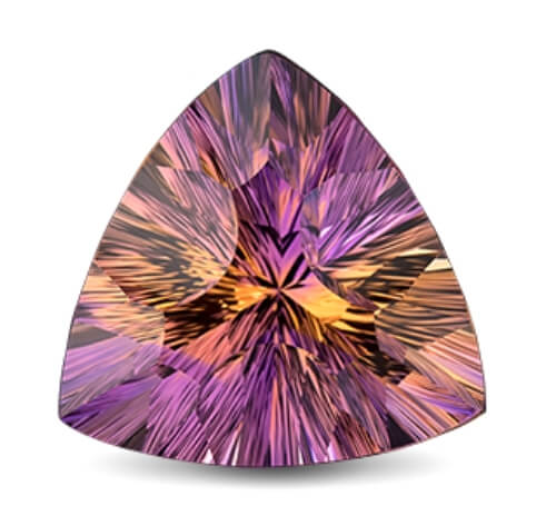 Ametrine gemstone