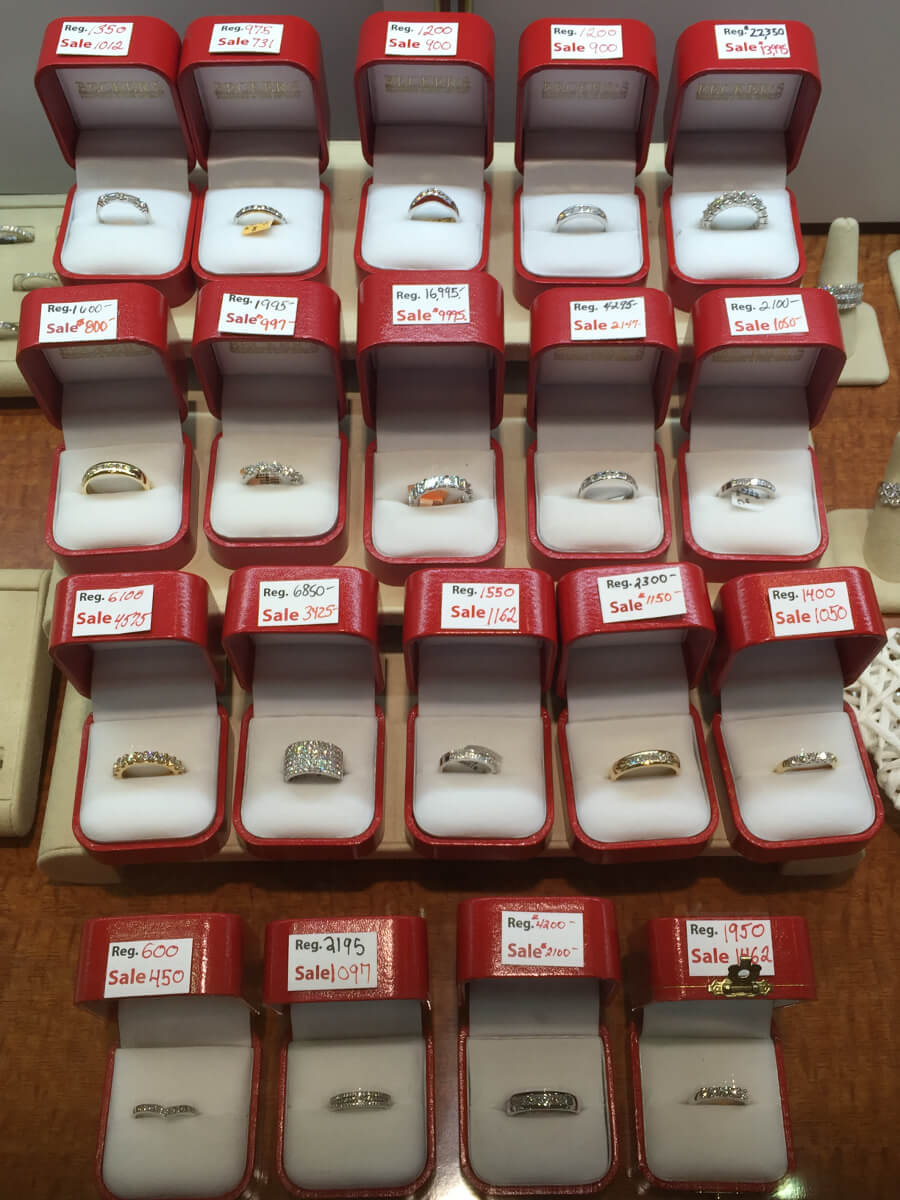 wedding band sale