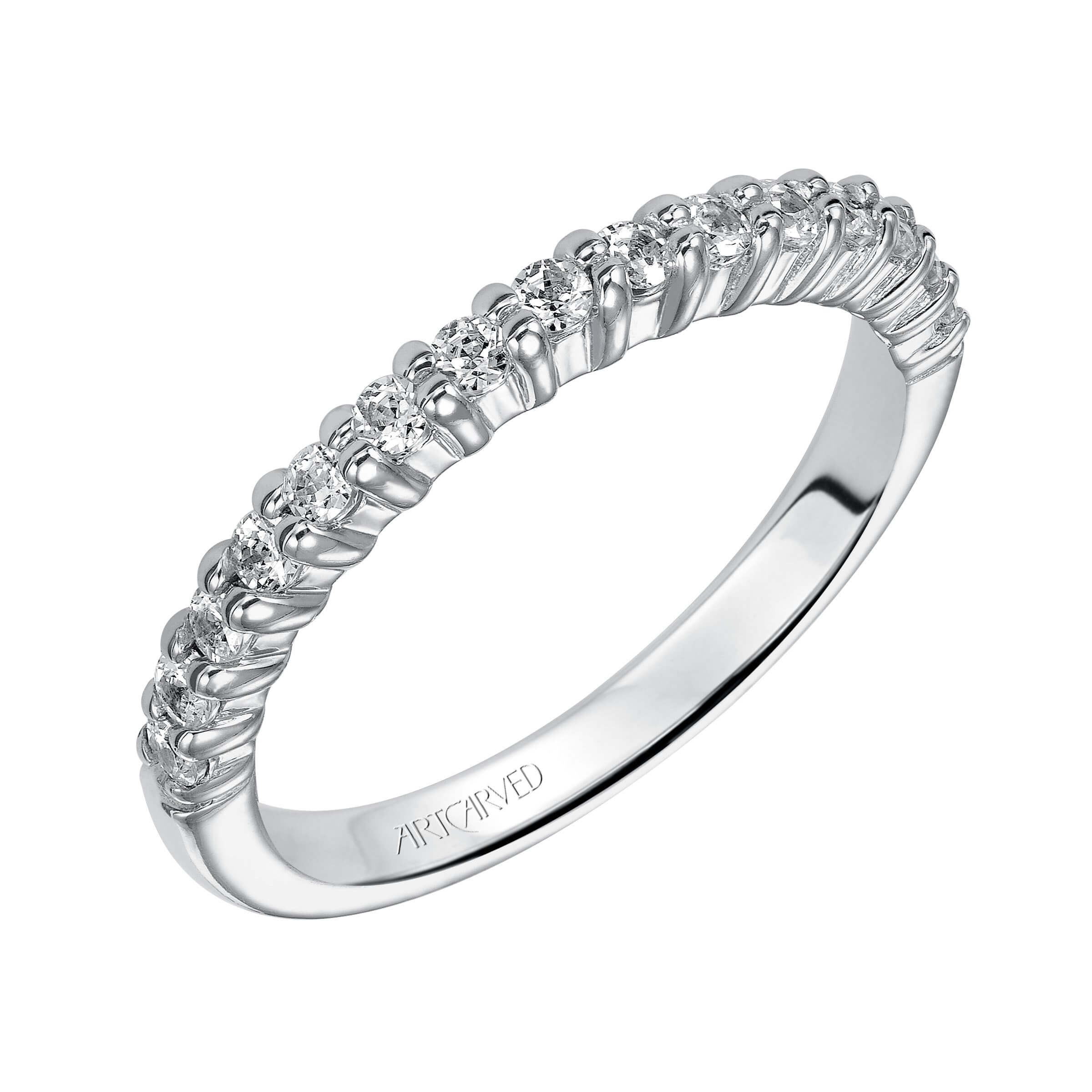 Artcarved half eternity band