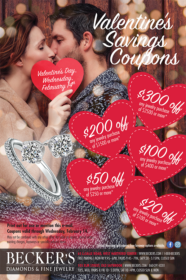 valentine's saving coupons