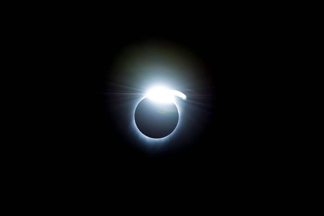 Diamond Ring Effect - Photo Credit: NASA
