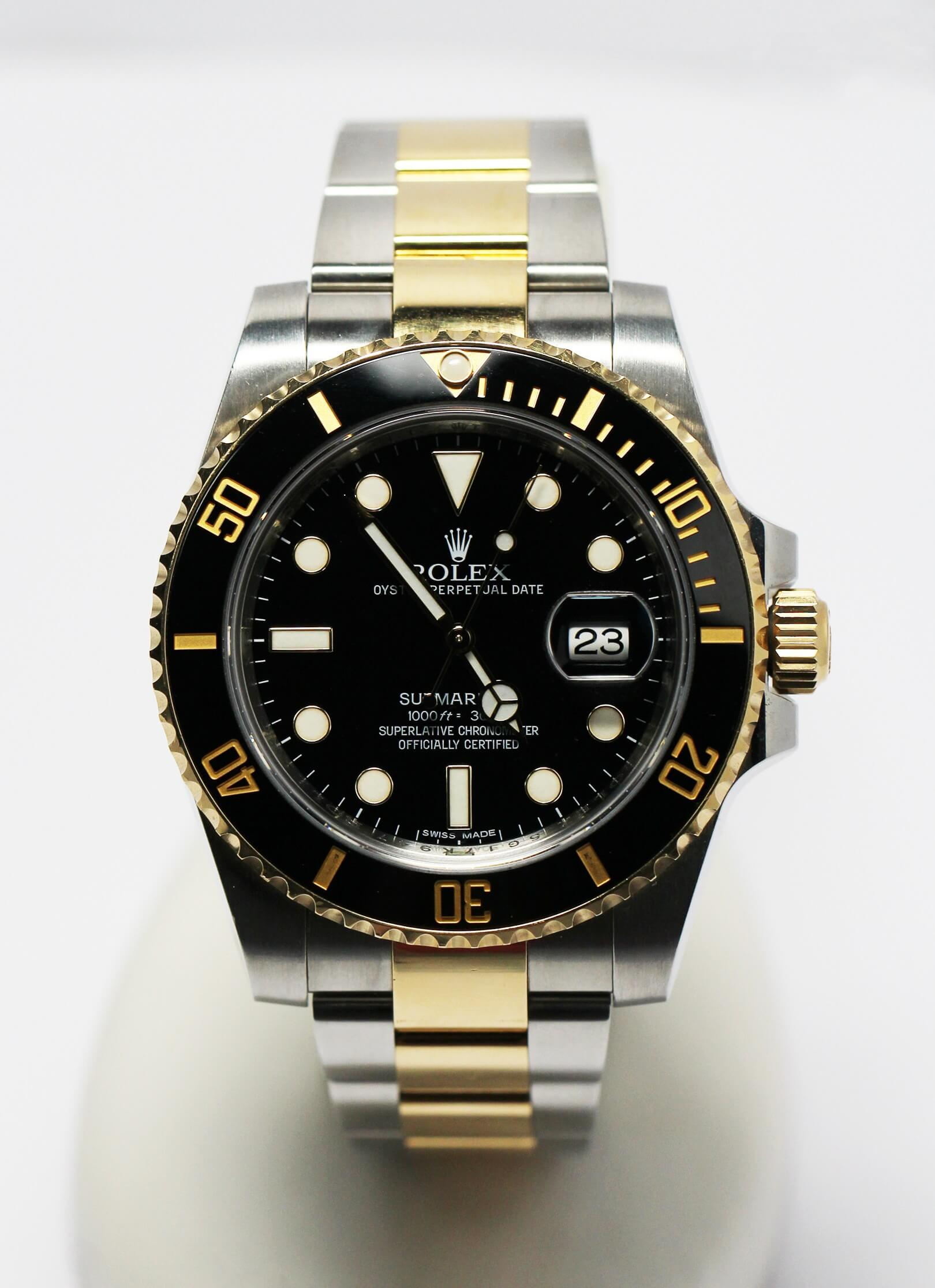 men's pre-owned rolex submariner