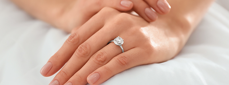 how the engagement rings tradition started